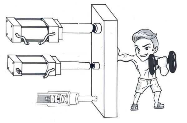 Calcolo forza cilindro